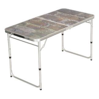 Brickwork Pong Table