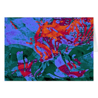 """""""Brickworks: Advent"""" Colorful Note Card"""