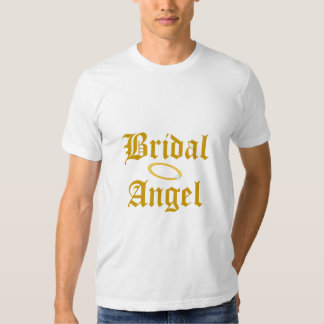 Bridal Angel Best Man T-Shirt-Customize T-Shirt