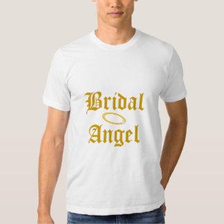 Bridal Angel Best Man T-Shirt-Customize Tshirts