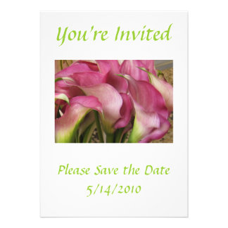 Bridal, Birthday or Wedding Invitation