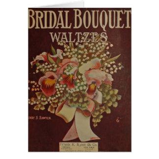 Bridal Bouquet Waltz Card