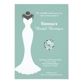 Bridal Boutique - Choose your background color Card