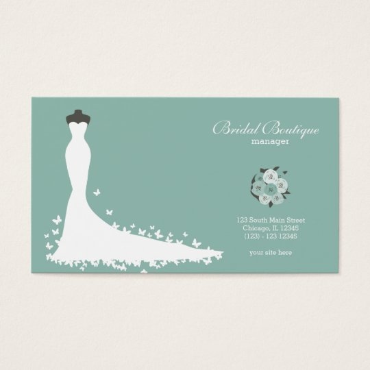 Bridal Boutique - Choose your background colour Business