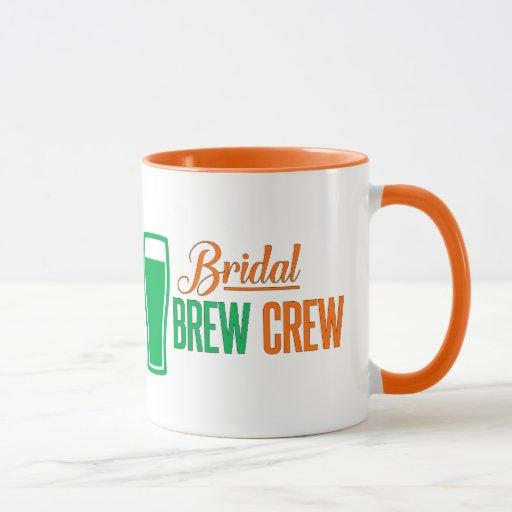 Bridal Brew Crew St. Patrick's Day Mug
