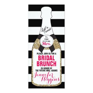 Bridal Brunch Bridal Shower Invitation Champagne