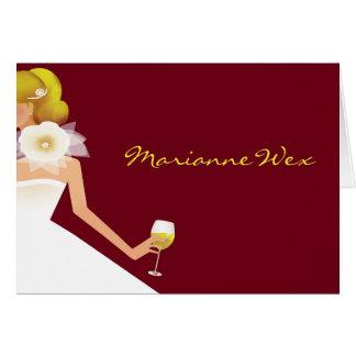 bridal card