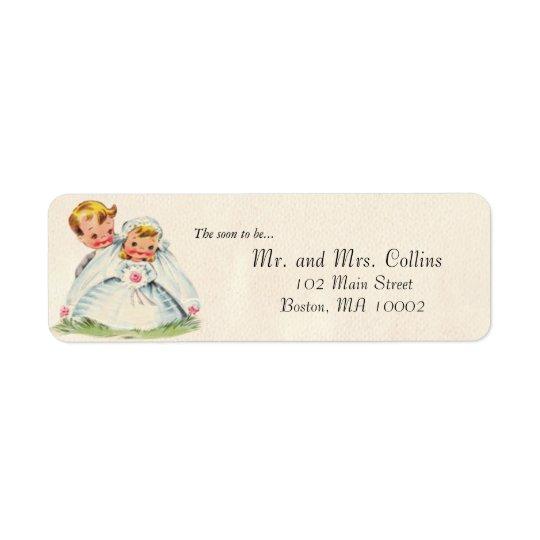 Bridal Couple Labels