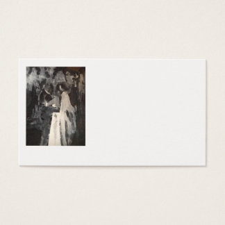 Bridal Dance Painting Business Cards