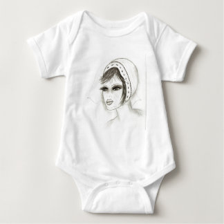 Bridal Deco Girl Baby Bodysuit