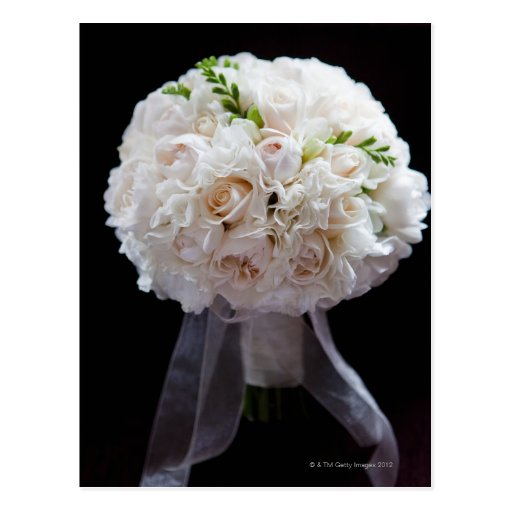 bridal flowers 2 post card