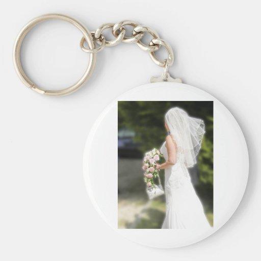 Bridal Gown Key Chain