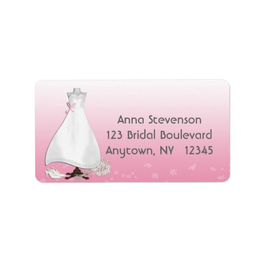 Bridal Gown Pink Label