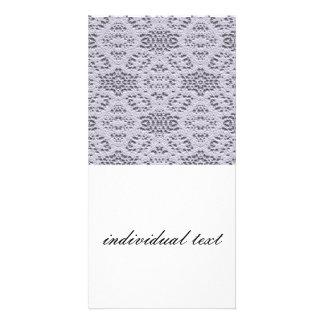 bridal lace 3 (I) Custom Photo Card