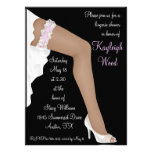 Bridal Lingerie Shower Personalised Ethnic Personalized Announcements