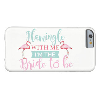 Bridal Party Bride Flamingle Aloha Luau Phone Case