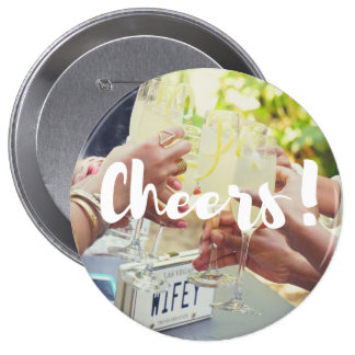 "Bridal Party buttons ""Cheers"""