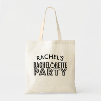 Bridal Party Custom Bachelorette Party Tote Gift