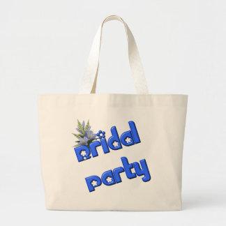 Bridal Party Cute Wedding Bridal Tote Bag
