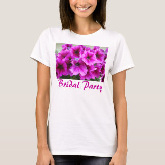 Bridal Party Flowers T-Shirt