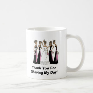 Bridal Party Thank You Mug