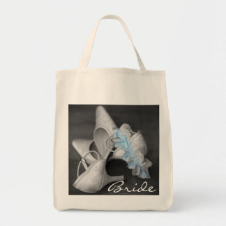 Bridal Shoes & Garter Bride's Carry All Tote Bag