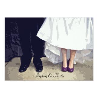 Bridal Shoes Rehearsal Invitation