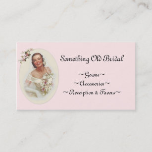 Bridal shop business cards zazzle uk bridal shop business card reheart Gallery