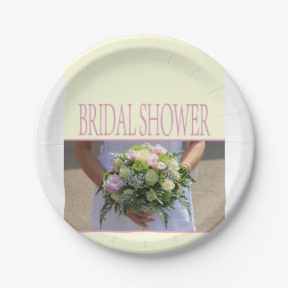 Bridal Shower 7 Inch Paper Plate