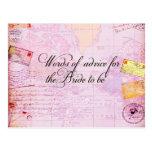Bridal Shower Destination Wedding Post Cards