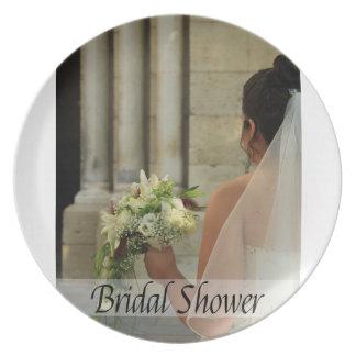 Bridal Shower Dinner Plates