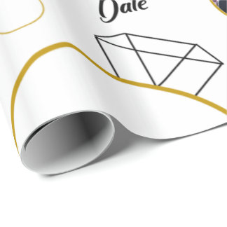 Bridal Shower/Engagement Gift Wrap with Photos