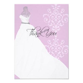 Bridal Shower | Flat Thank You Card 11 Cm X 16 Cm Invitation Card