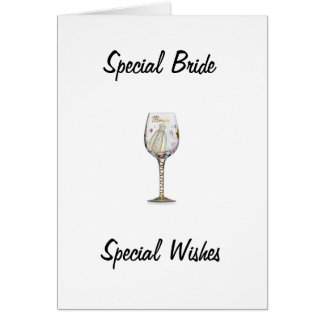 BRIDAL SHOWER FOR SPECIAL BRIDE CARD