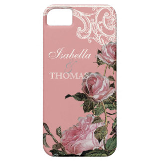 Bridal Shower Gift Matching Trellis Rose Vintage iPhone 5 Cover