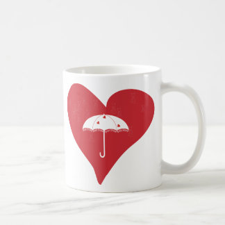 Bridal Shower Heart Mugs