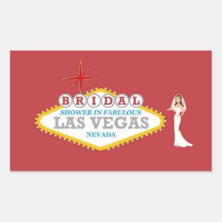 Bridal Shower In Fabulous Las Vegas Sticker