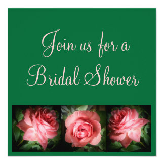 Bridal Shower Invitaion 13 Cm X 13 Cm Square Invitation Card