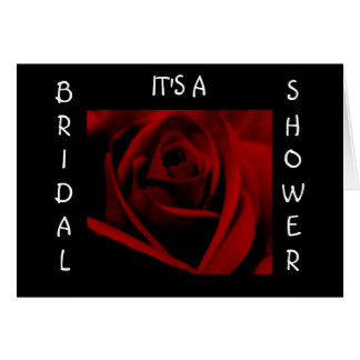 BRIDAL SHOWER - invitaion Greeting Card