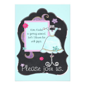 Bridal Shower Invitation Announcement