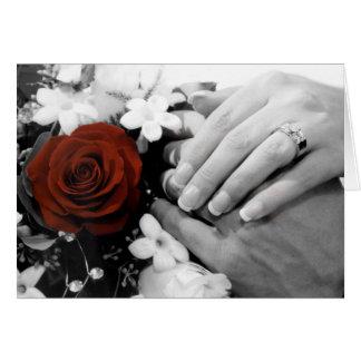 Bridal Shower Invitation : Bride & Groom Greeting Card