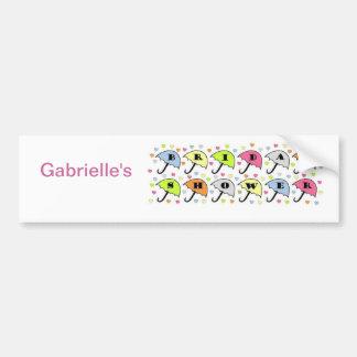 Bridal Shower Invitation Bumper Sticker