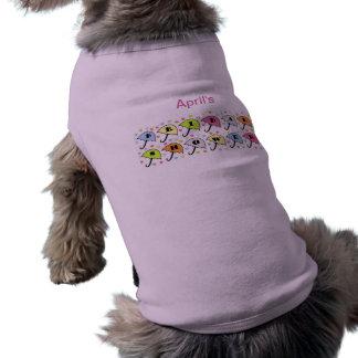 Bridal Shower Invitation Sleeveless Dog Shirt