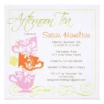 Bridal Shower Invitation - Tea