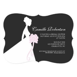 "Bridal Shower Invite | Bridal Shower |offbla 5"" X 7"" Invitation Card"