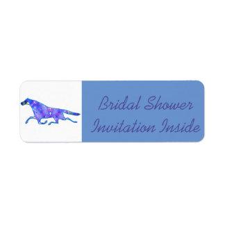 """""""Bridal Shower Invite"""" Envelope """"Label"""" Return Address Label"""