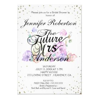 Bridal Shower Invite | Future Mrs