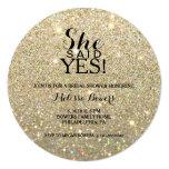 Bridal Shower Invite - She Said Yes