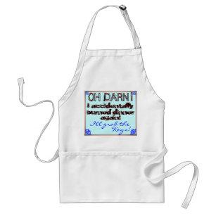 bridal shower joke gift funny cooks apron standard apron