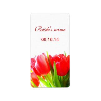 Bridal Shower Label Address Label